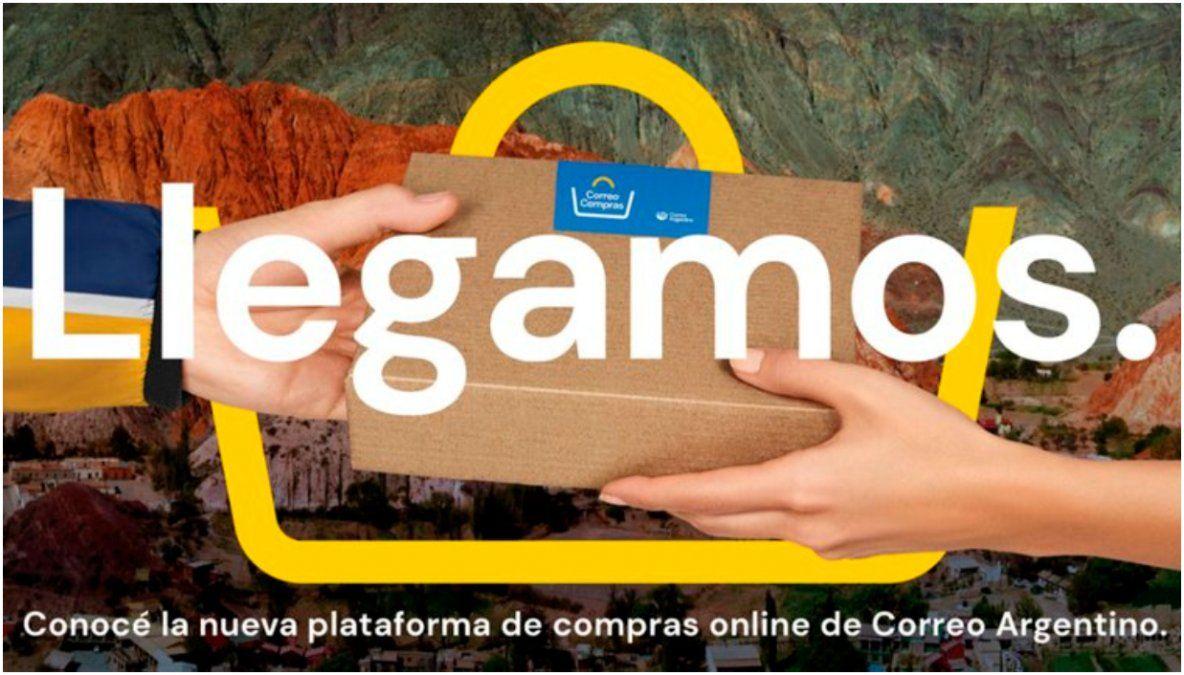 Se lanzó Correo Compras, la nueva plataforma de ventas online