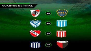 Los cuartos de final de la Copa Liga Profesional tienen días y horarios