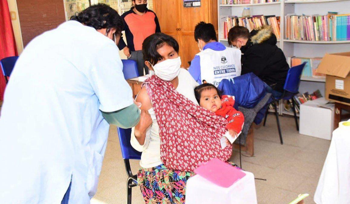 En Jujuy, más del 30 por ciento de la población ya recibió la primera dosis