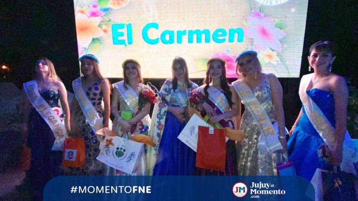 Belén Suárez es la Reina de El Carmen