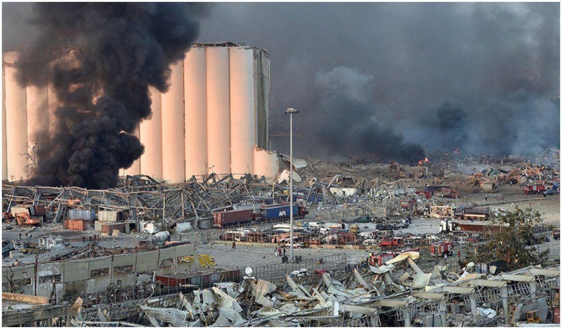 Impresionante explosión sacudió Líbano: Hay al menos 50 muertos