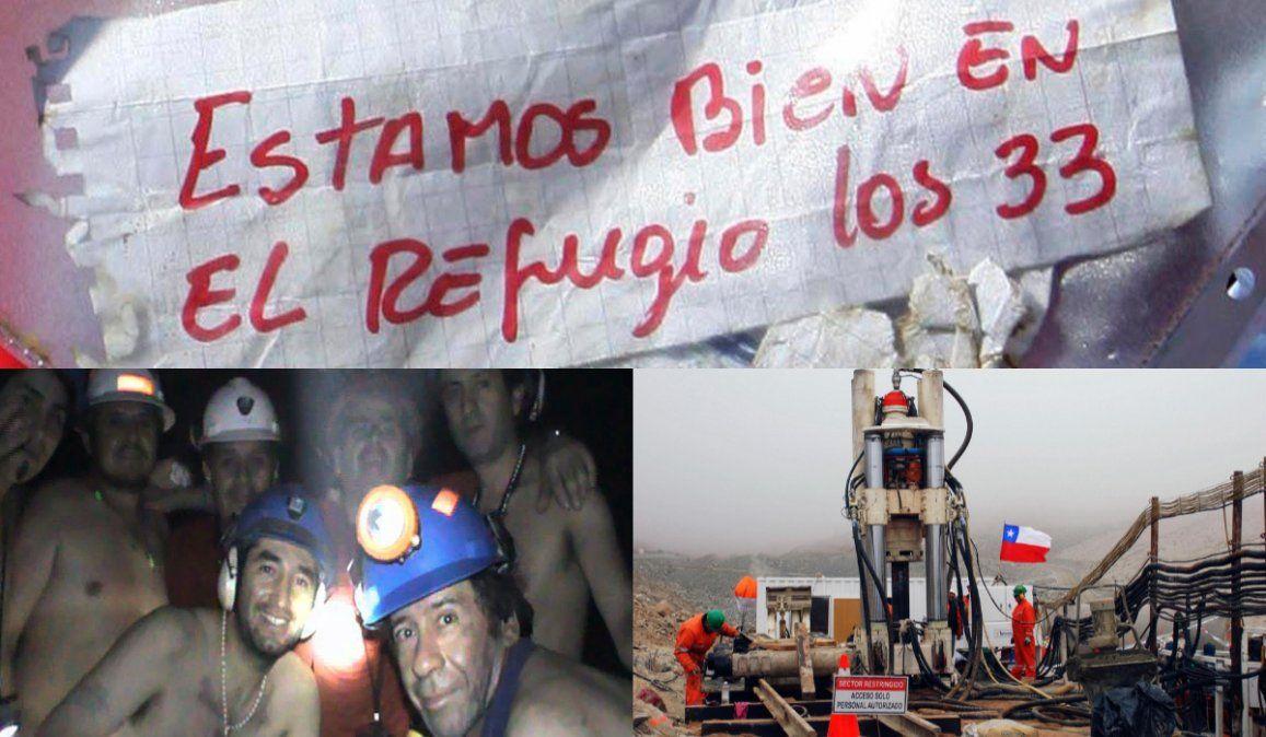 Chile: A 10 años del rescate de los 33 mineros que conmocionó al mundo