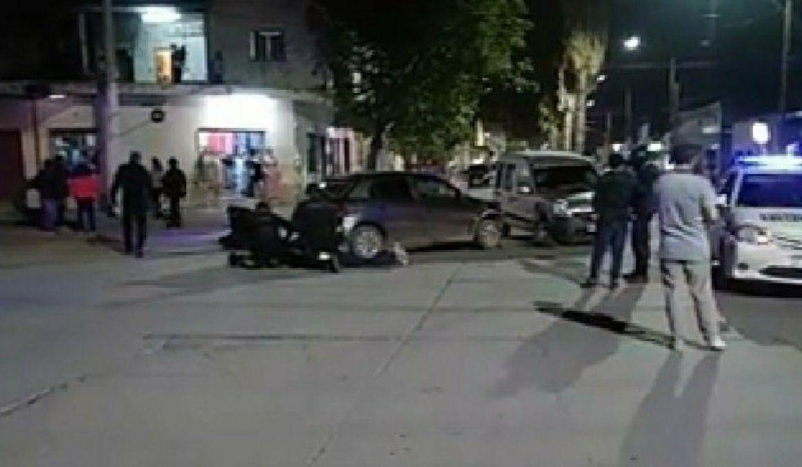 Atrapan a cinco delincuentes que huían en auto e intentaron atropellar a policías