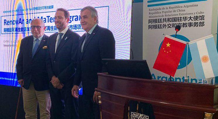 Morales expuso los alcances de Cauchari en China