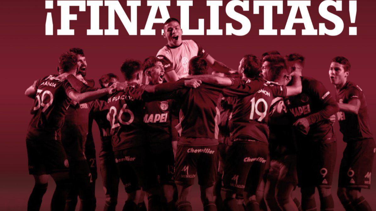 Lanús goleó a Vélez y se metió en la final de la Copa Sudamericana
