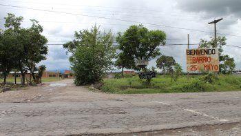 Fuertes críticas de los vecinos al intendente por la situación de Monterrico