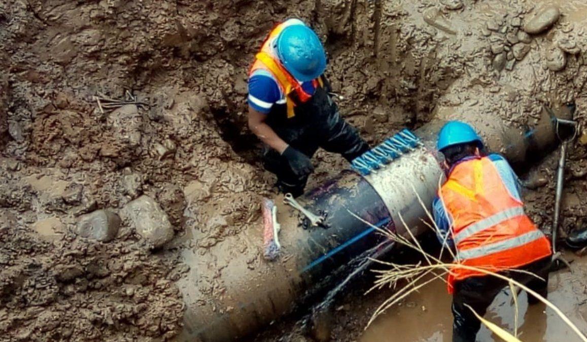 Volvió el agua para los barrios afectados por el corte de servicio
