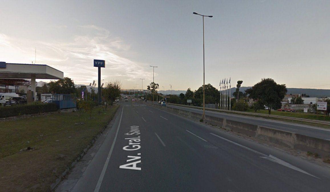 Accidente fatal: murió un motociclista tras perder el control