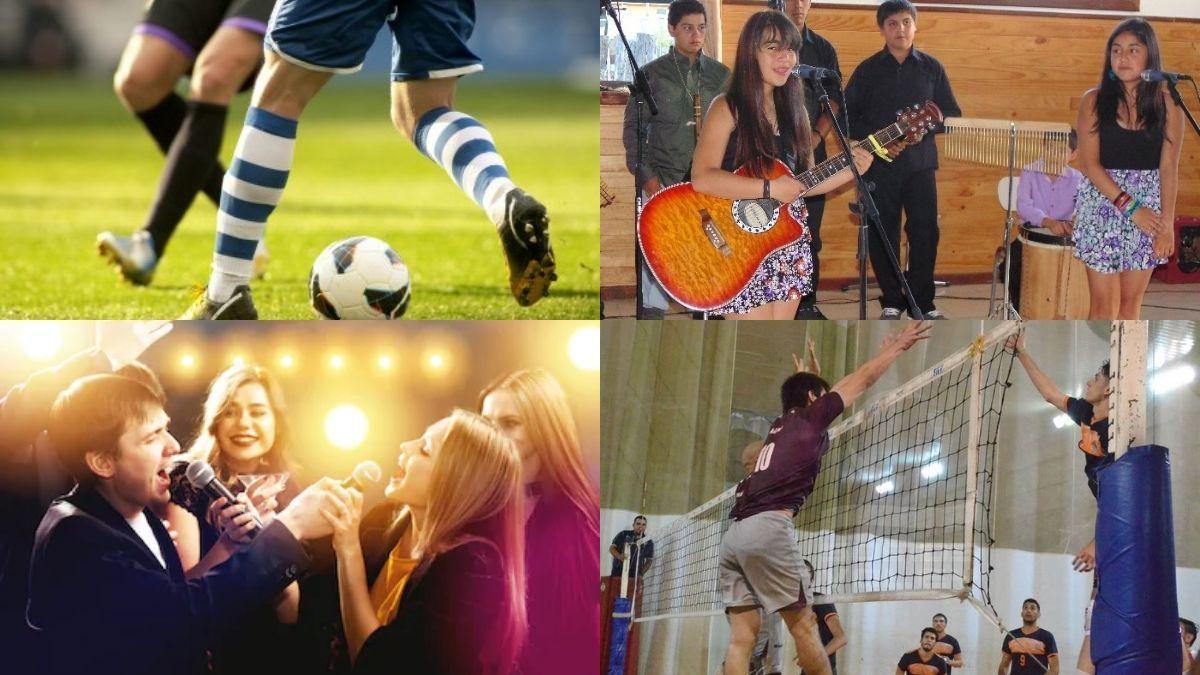Olimpiadas de verano y show de talento destinado a jóvenes y adolescentes