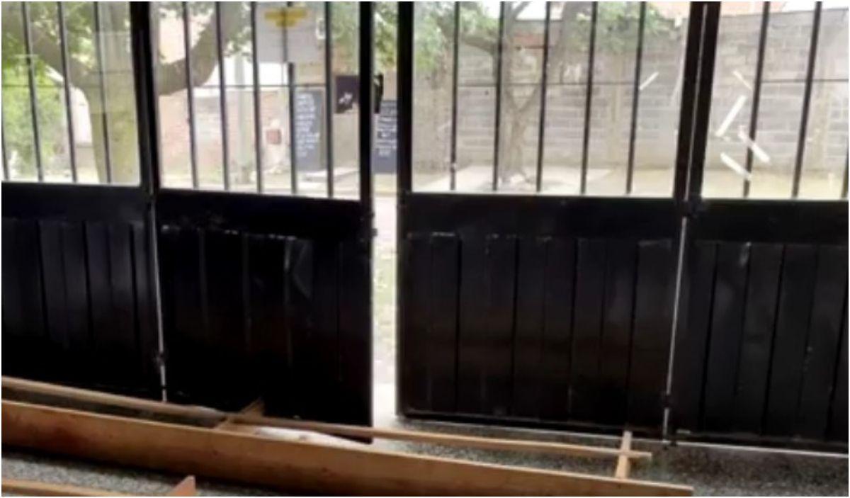 Inseguridad: Delincuentes causaron daños en el SUM del barrio San José