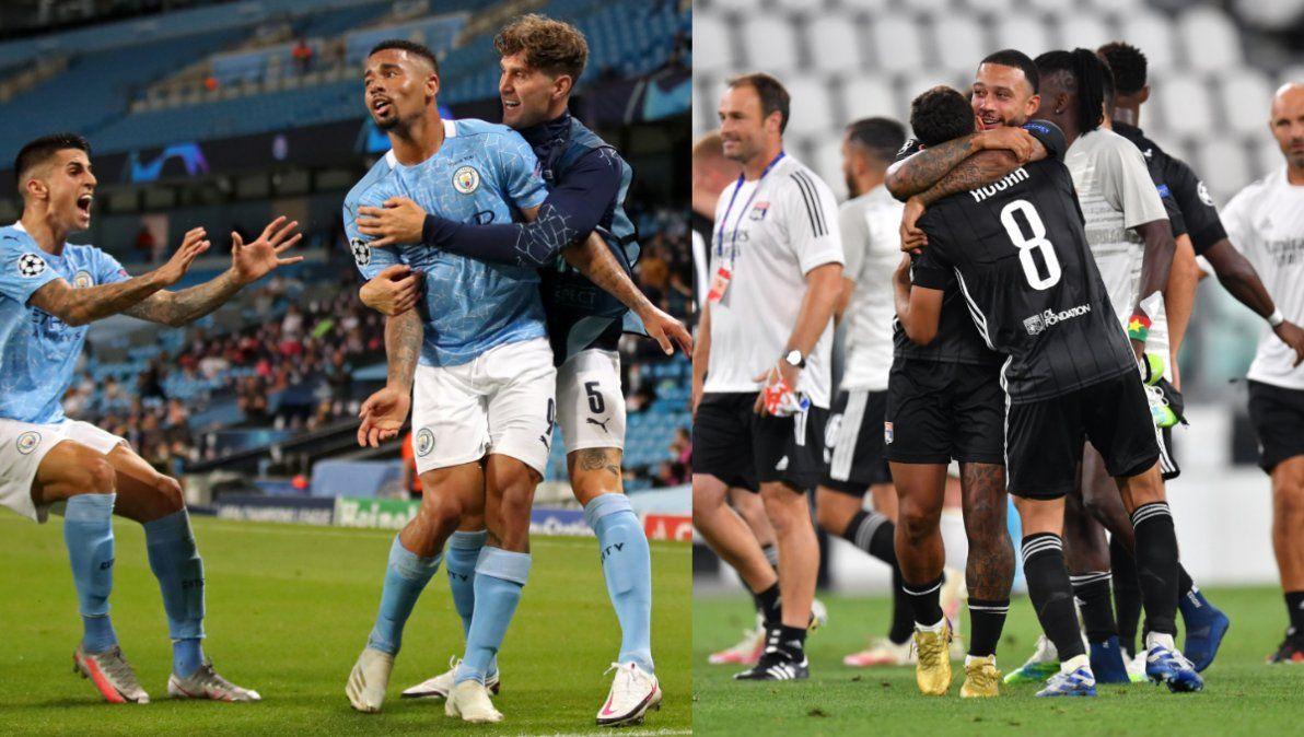 Manchester City y Lyon pasaron a cuartos de final