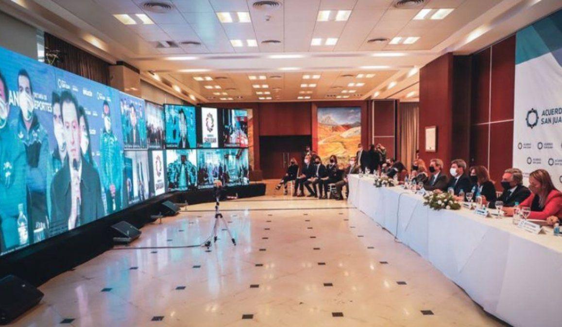 Acuerdo San Juan, una histórica iniciativa de consenso y el contraste con lo que pasa en Jujuy