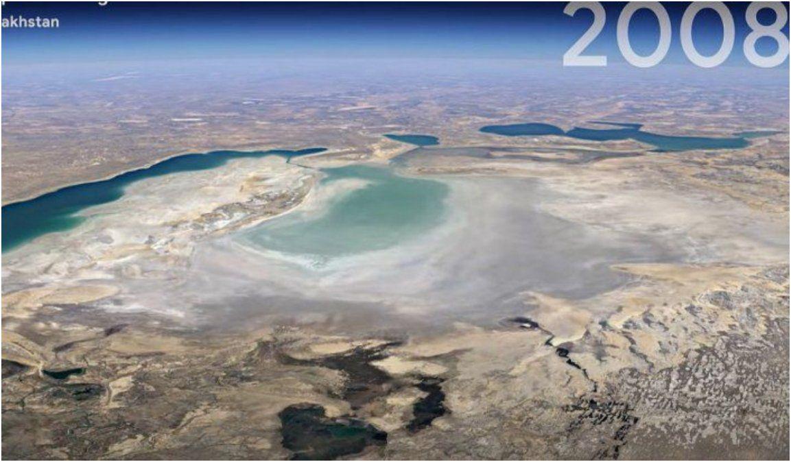 Ya se puede viajar en el tiempo con Google Earth