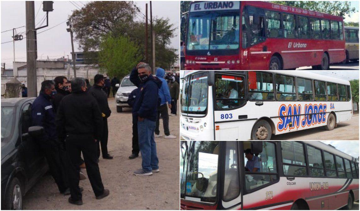 Paro de transporte: Dos de las tres empresas en conflicto consiguieron soluciones