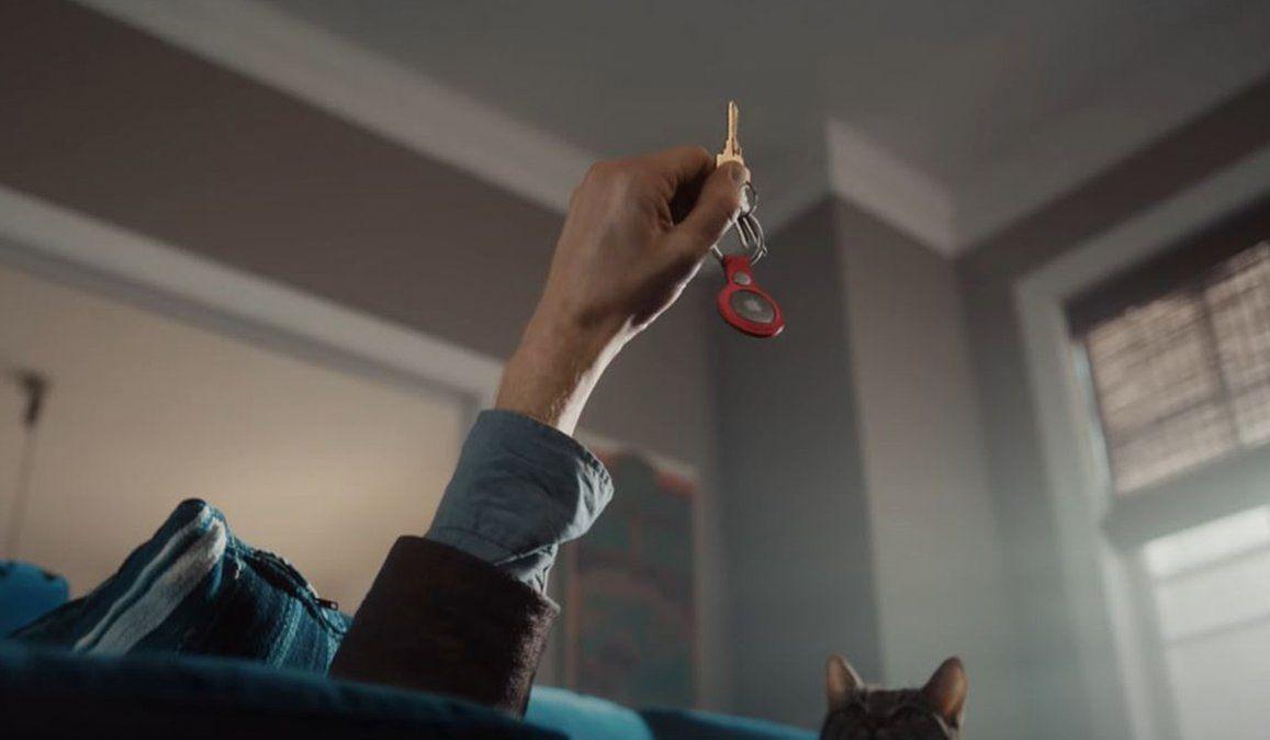 Para los que pierden las llaves o el control remoto Apple presentó los Airtag