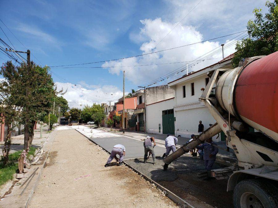 Chuli dijo que tiene programado la repavimentación en varios barrios