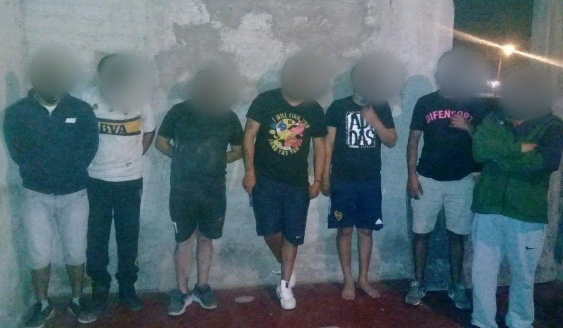 Nueve detenidos por organizar una fiesta clandestina en Palpalá
