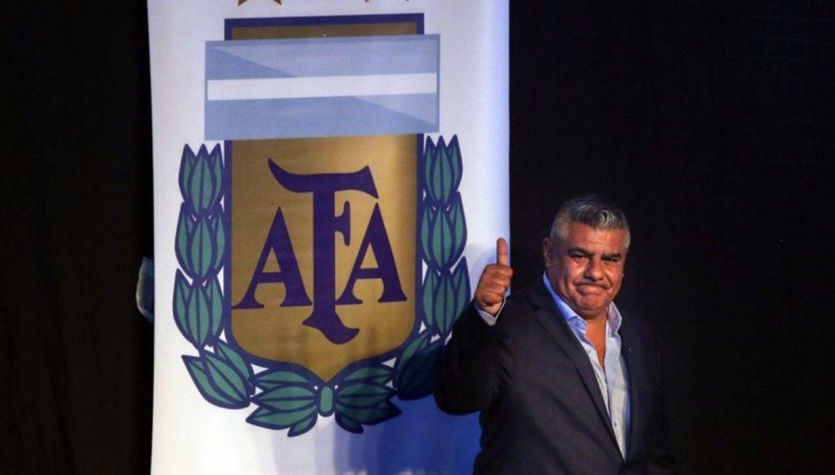 Chiqui Tapia con nuevo cargo en Conmebol y UEFA