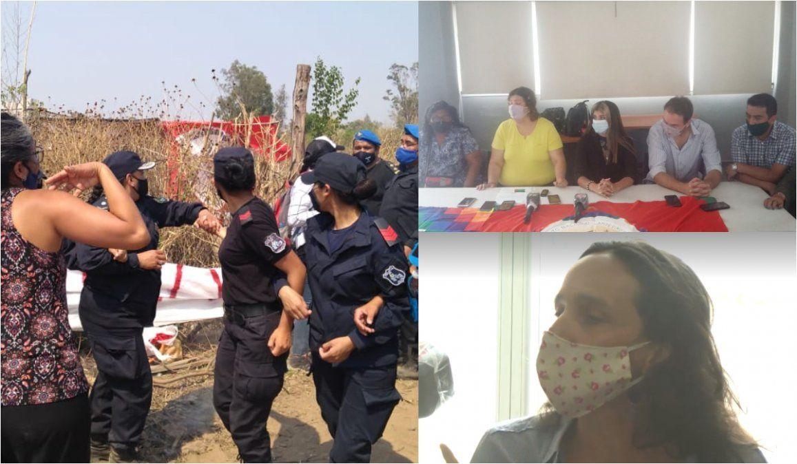Denunciarán al gobierno provincial por el violento desalojo a la Comunidad Tusca Pacha