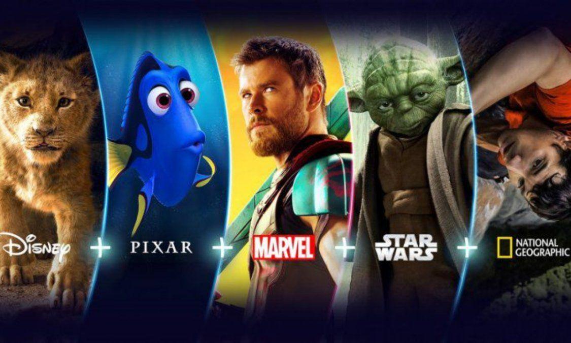 Disney+ ya está en Argentina: ¿Cuánto cuesta y qué hay para ver?