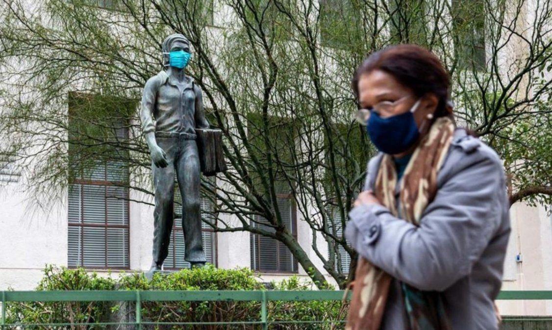 Uruguay con el número más alto de muertes diarias desde que empezó la pandemia