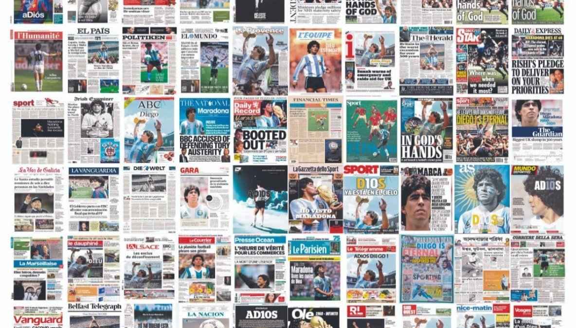 Buscan instituir la fecha de nacimiento de Maradona como el Día Nacional del Fútbol