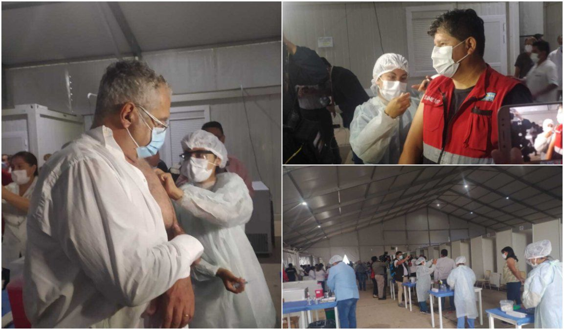 Comenzó la vacunación contra el coronavirus en Jujuy