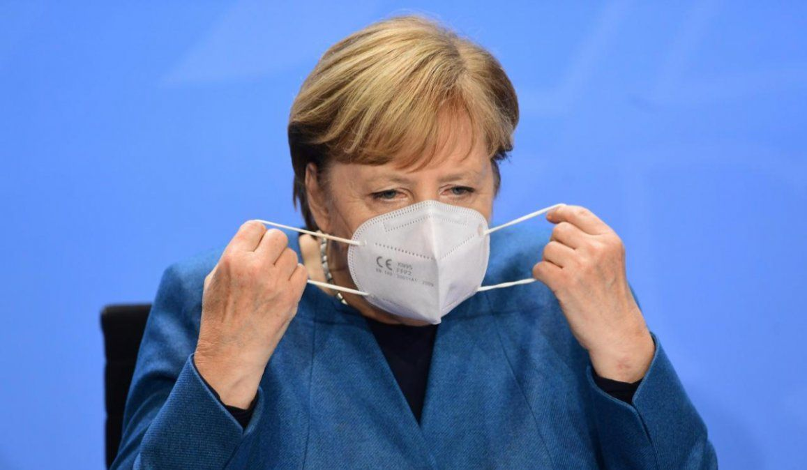 Merkel advirtió que lo peor de la pandemia está por venir
