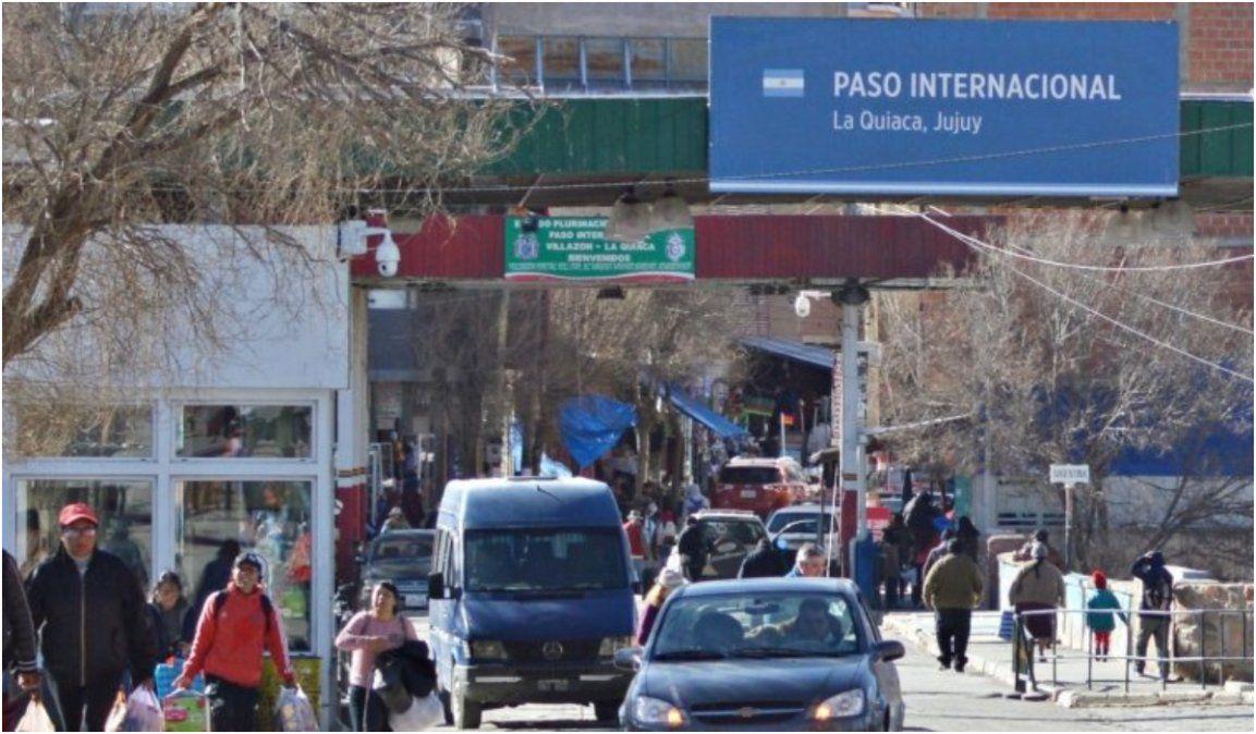 Se cierra el tránsito para el transporte de carga en el paso La Quiaca-Villazón