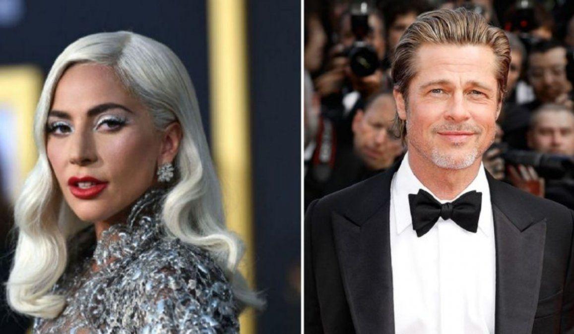 Lady Gaga va de la biopic de Gucci a la acción con Brad Pitt