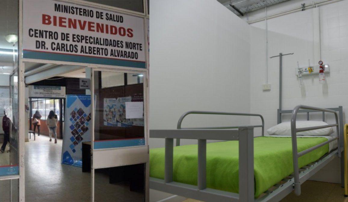 Incorporaron camas con oxígeno para pacientes covid en el Centro de Especialidades Norte