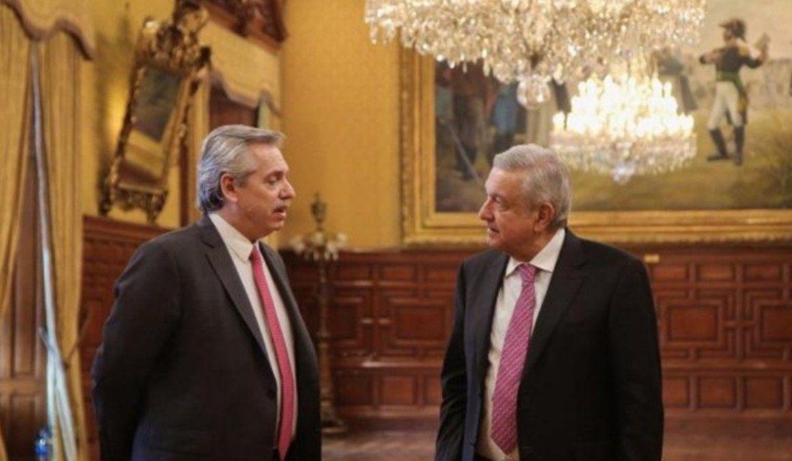 Alberto Fernández llega a México para participar de los festejos del bicentenario