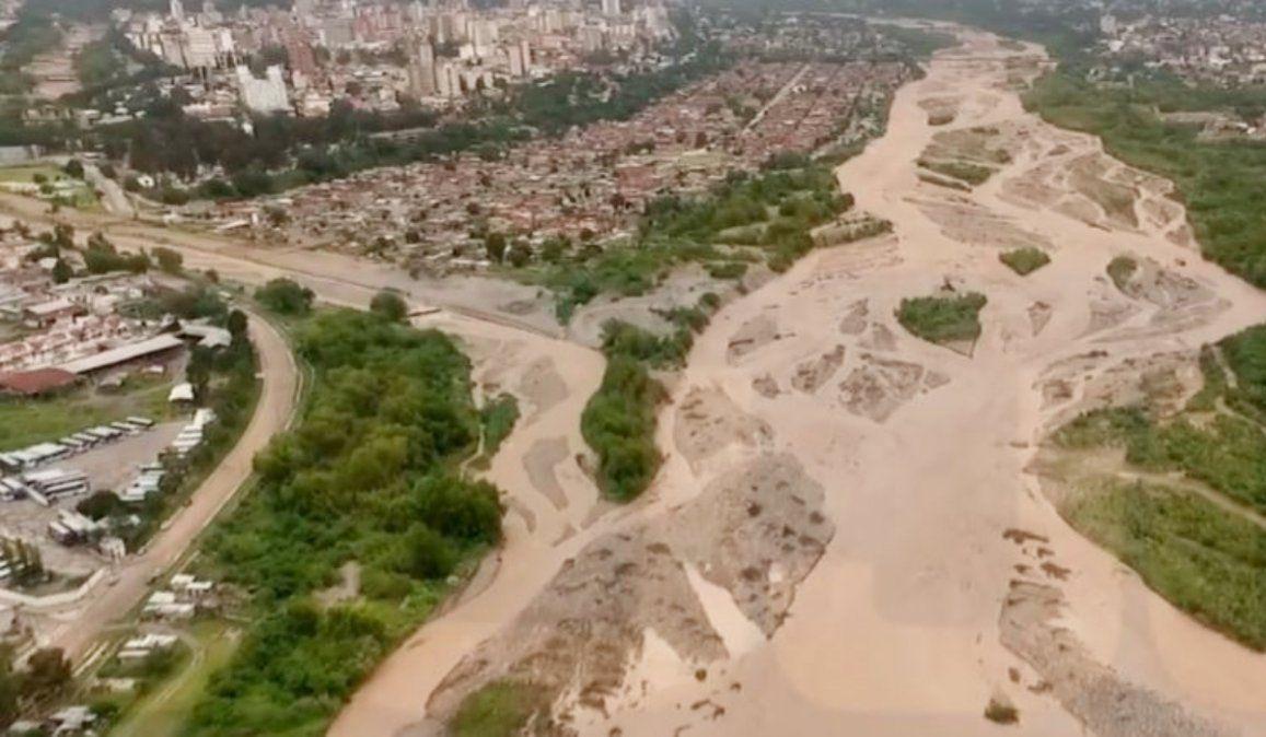 Unión de los ríos Grande y Xibi Xibi.