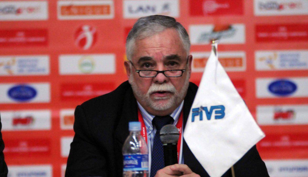 Falleció el presidente de la Confederación Sudamericana de Voleibol por Covid