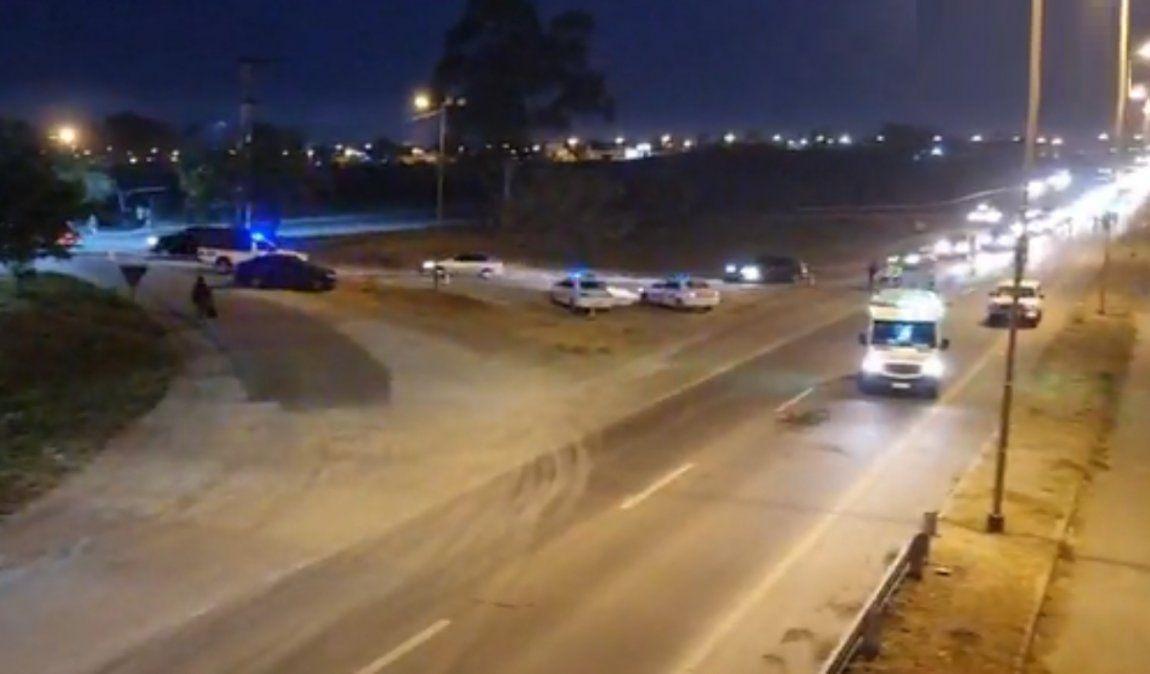 Choque en Ruta 66 terminó con un ciclista muerto