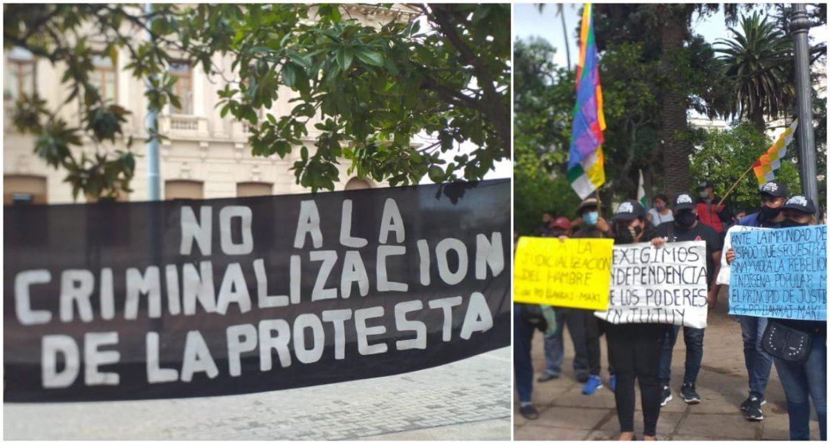 Organizaciones sociales reclamaron por la criminalización de las protestas