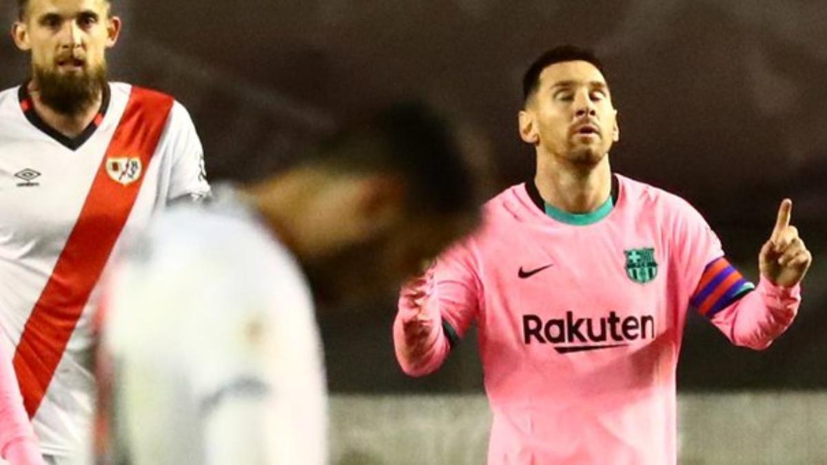 La maradoniana jugada de Messi que no fue gol y nuevo récord