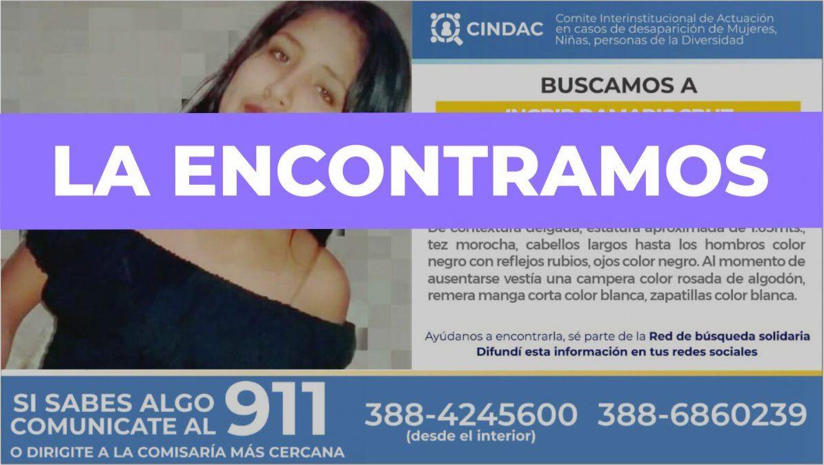 Localizaron a Ingrid Damaris Cruz, estaba en Buenos Aires
