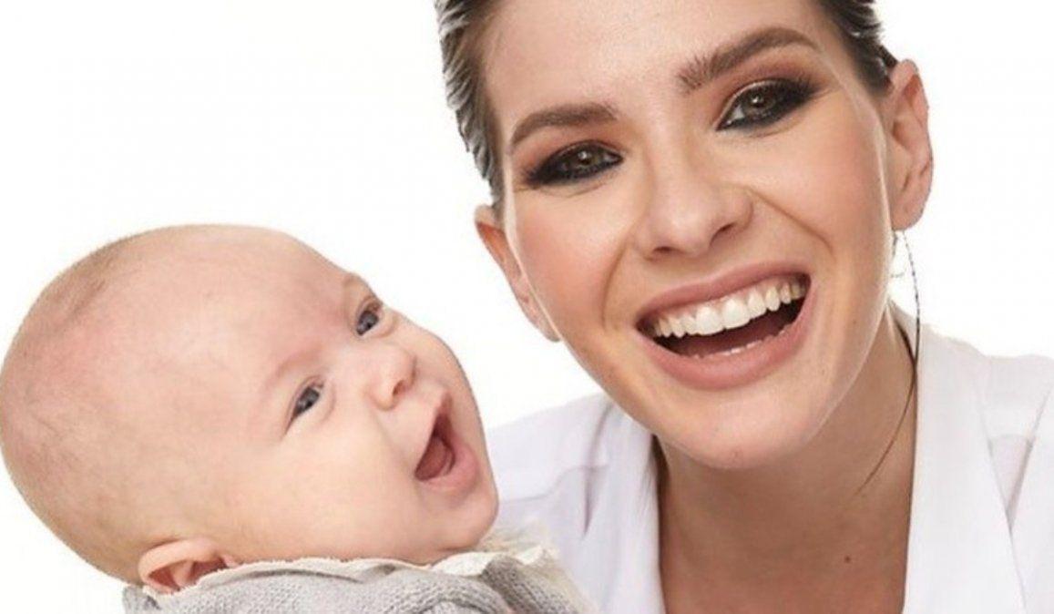 La China Suárez compartió hermosas fotos de su bebé