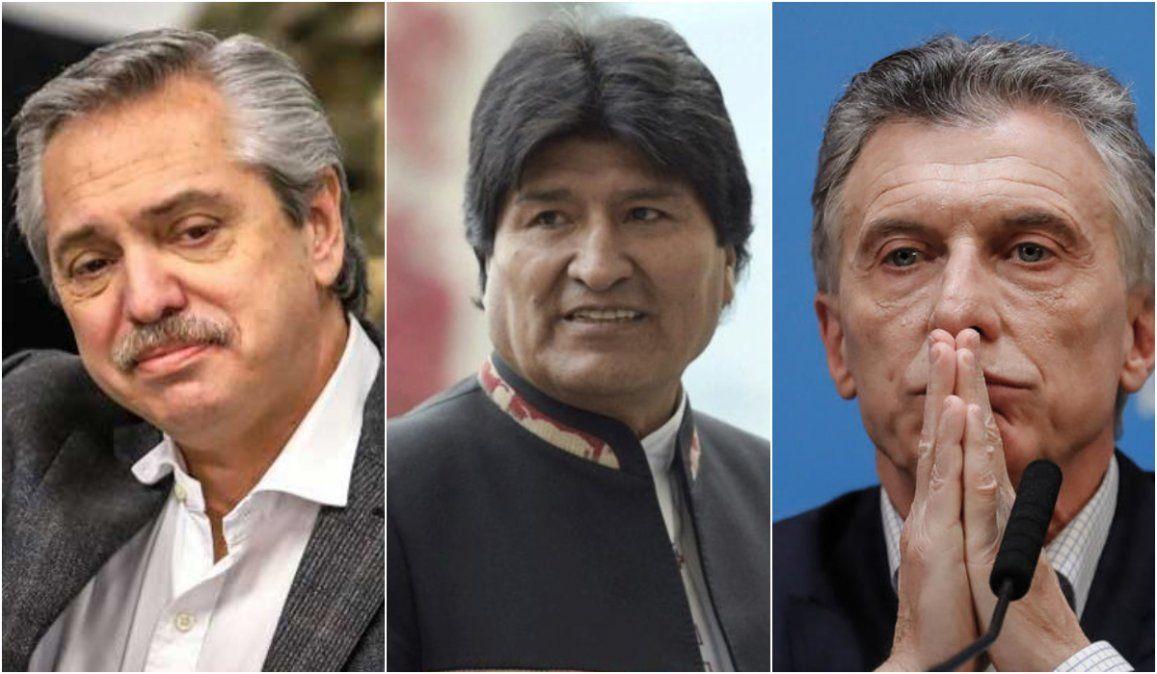 Alberto Fernández a Macri: Le dije que la vida de Evo corría peligro