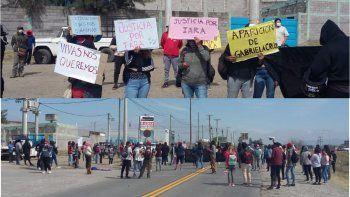 Corte en Ruta 66, piden justicia por Iara Rueda y un alto a los femicidios en Jujuy