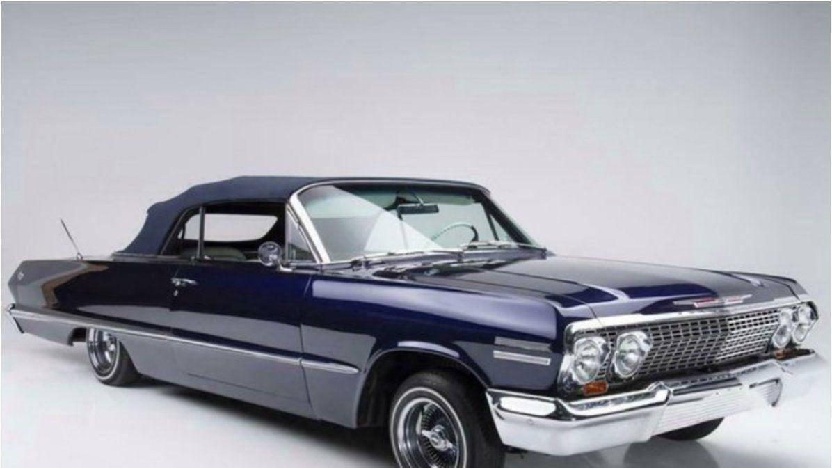El Impala tuneado de Kobe Bryant, rematado