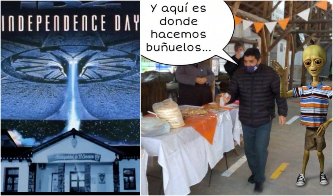 Los memes del discurso de la Independencia en El Carmen invadieron las redes