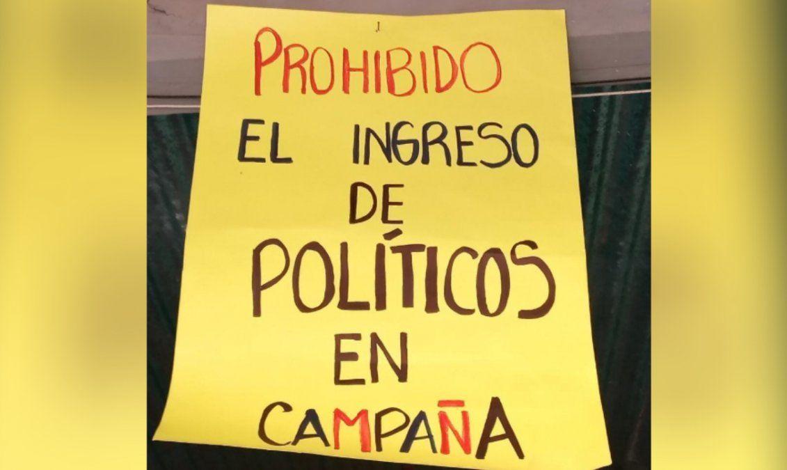 Un merendero de Humahuaca prohibió el ingreso de políticos en campaña