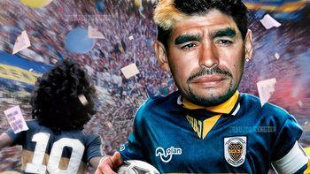 El primer cumpleaños sin Maradona: Boca jugará ese día en la Bombonera