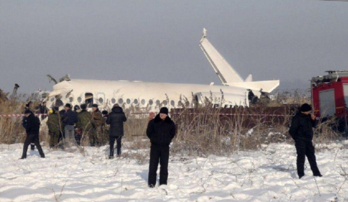 Se estrelló un avión en Siberia, Rusia