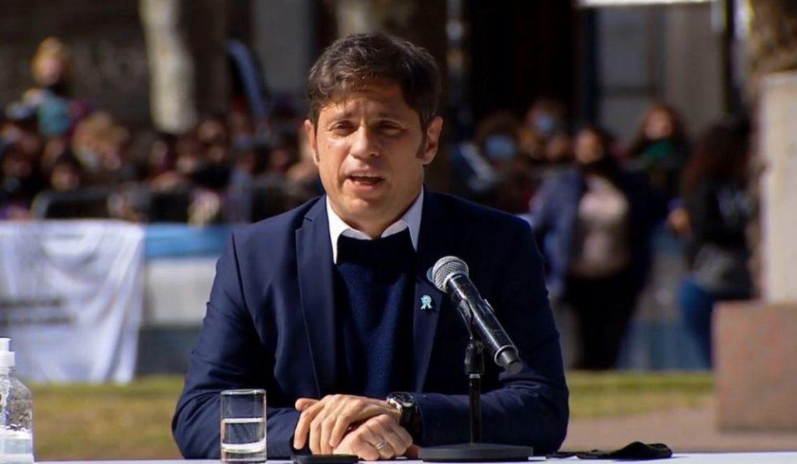 El Gabinete completo de Axel Kicillof puso su renuncia a disposición