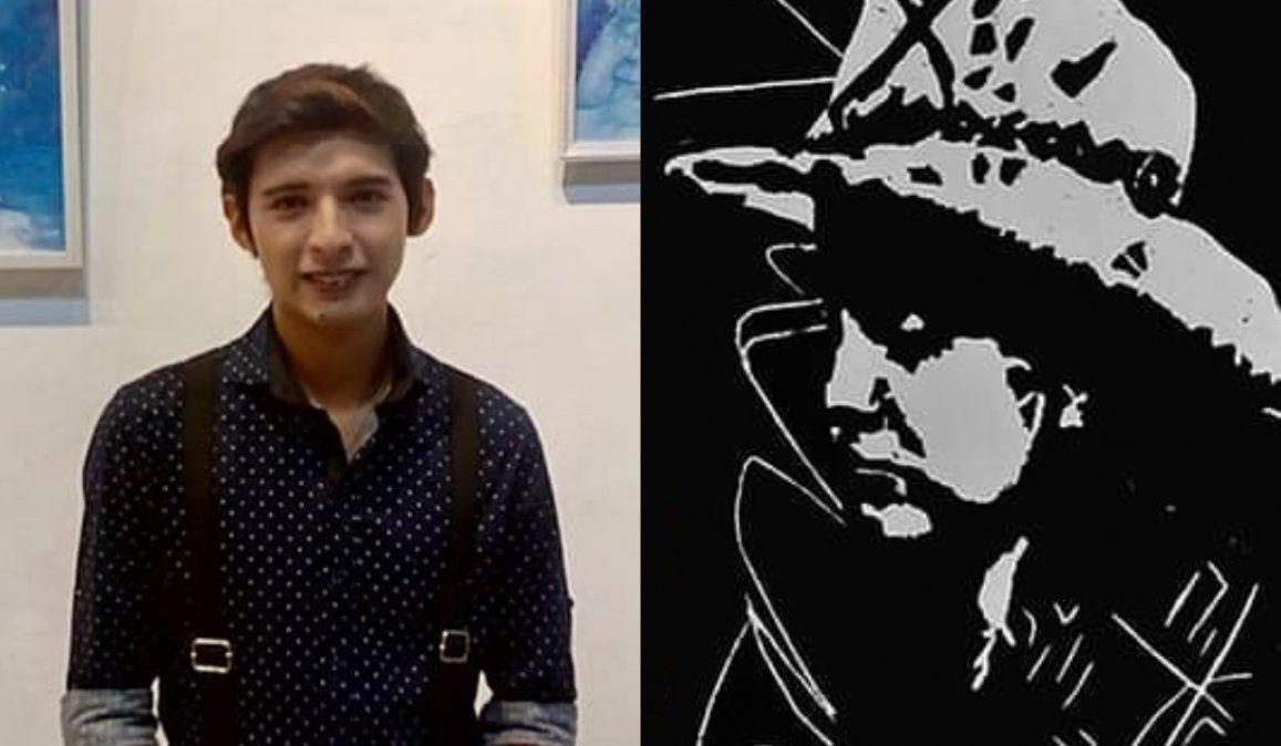 El joven artista Emanuel Bruno expondrá su muestra Jujuy es grabado