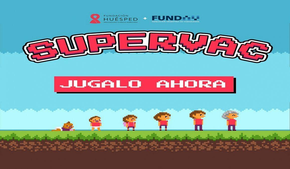 Supervac, el videojuego para aprender sobre la vacunación