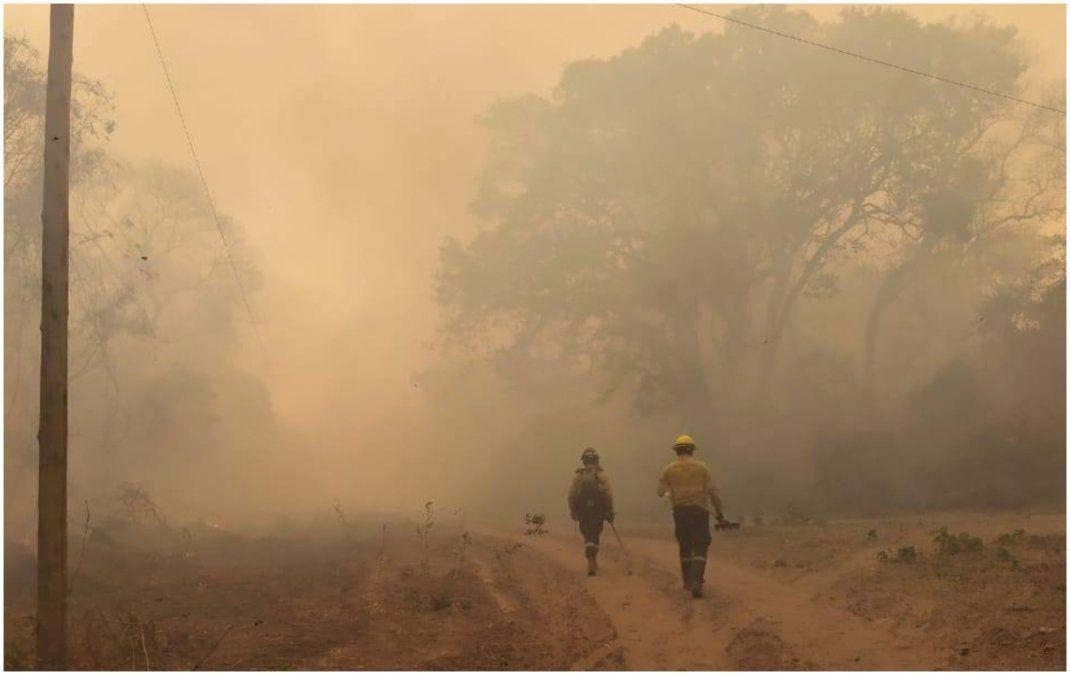 Incendios forestales: preocupa un foco activo que no logró ser extinguido